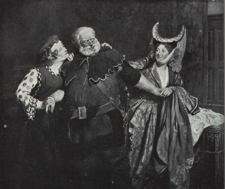 """the different literary devices used in act two scene one of the play the merry wives of windsor by w The only words by shakespeare in the opera are in didon and enée's love duet, which uses the """"on such a night"""" dialogue of lorenzo and jessica in act v, scene 1 of the merchant of venice, but other traceable borrowings are the ghosts that persuade the hero to leave carthage and the comic scene that precedes enée's tempestuous."""