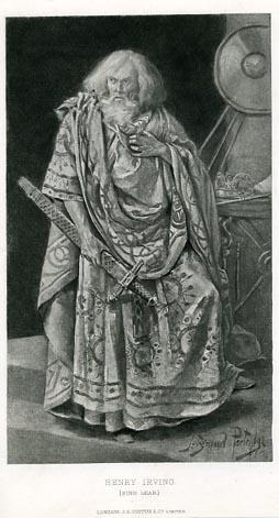 King Lear, Henry Irving as Lear