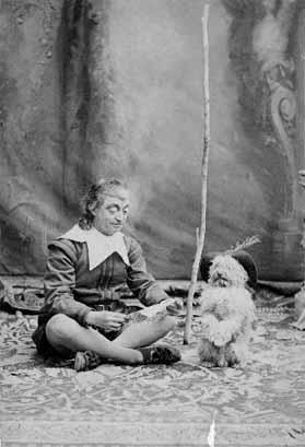 The Two Gentlemen of Verona: James Lewis as Launce and his dog Crab