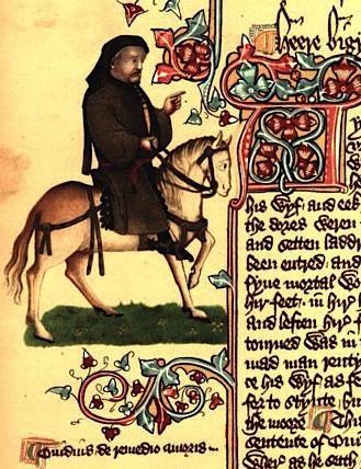 Chaucer as a Pilgrim