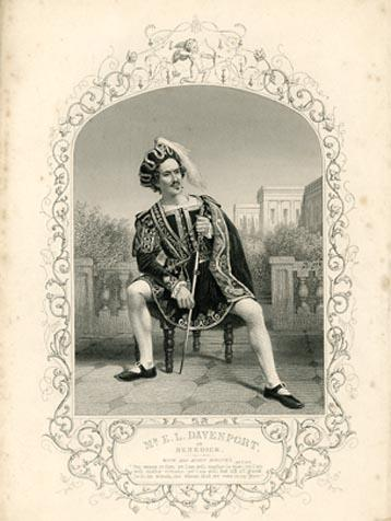 Much Ado About Nothing: E.L. Davenport as Benedick
