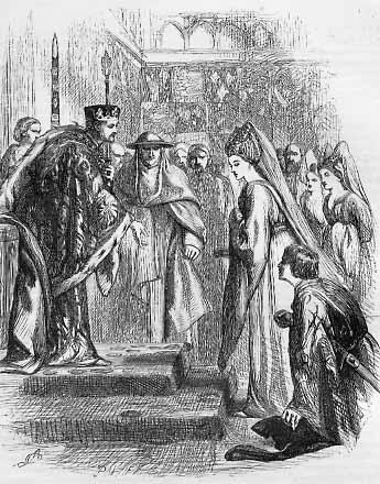 Henry VI, Part 2: Suffolk Presents his Mistress, Queen Margaret, to her Pre-Contracted Husband Henry VI