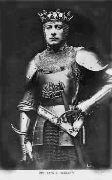Lewis Waller (1860-1915) as King Henry V