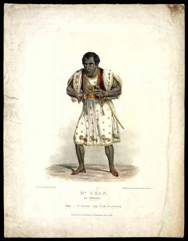 Othello: Edmund Kean as Othello