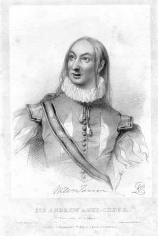 Twelfth Night: William Farren (1786-1861) as Sir Andrew Aguecheek