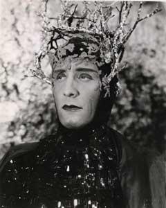 A Midsummer Night's Dream: Victor Jory as Oberon