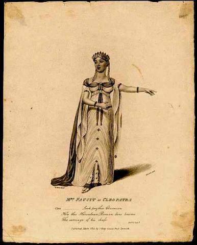 Antony and Cleopatra, Mrs. Faucit as Cleopatra, 1814