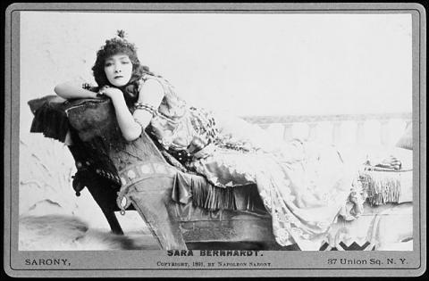 Antony and Cleopatra, Sarah Bernhardt as Cleopatra, 1891