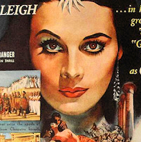 Caesar and Cleopatra, Vivien Leigh as Cleopatra, Gabriel Pascal Productions, 1945