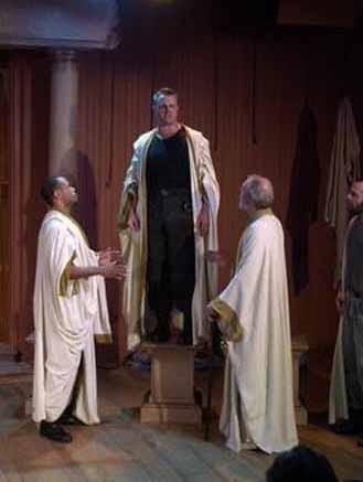 Coriolanus, Shakespeare and Company, 2000