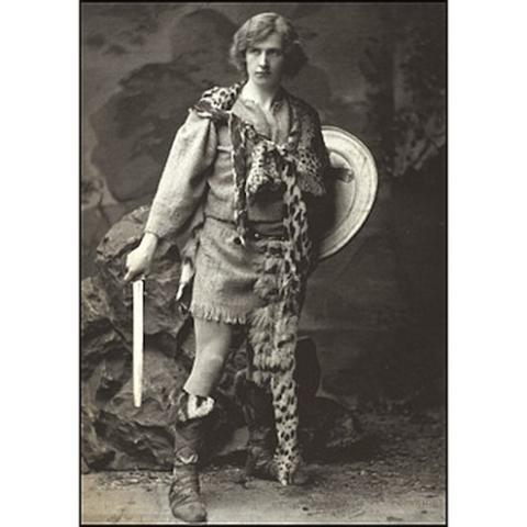 Cymbeline, Edward Gordon Craig as Arviragus, Lyceum Theatre, 1896