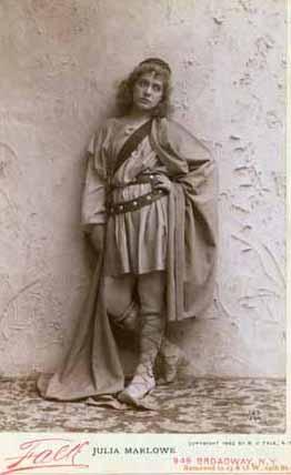 Cymbeline, Julia Marlowe as Imogen, 1894