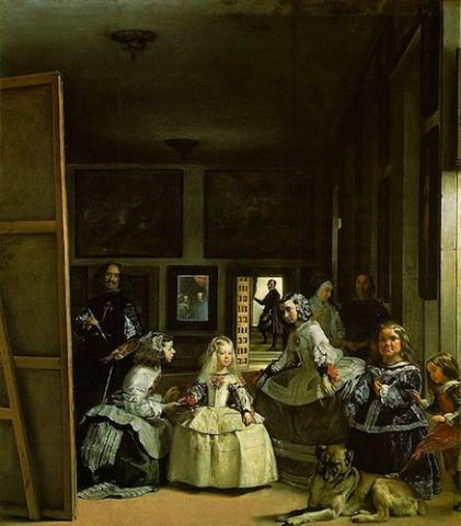 Diego Velázquez (1599-1660): Las Meninas, 1656-1657