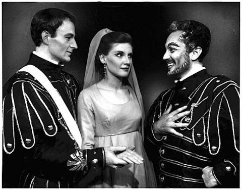 Great Lakes Shakespeare Festival, Antony and Cleopatra, 1964.