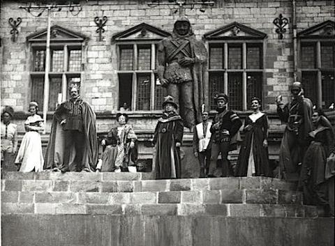 Hamlet at Elsinore Castle