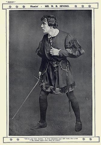 Hamlet, Harry Brodribb Irving as Hamlet, 1905