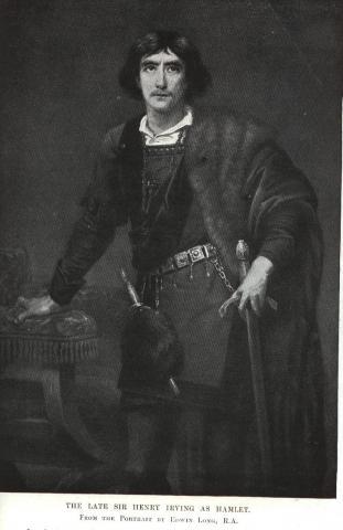 Hamlet, Henry Irving as Hamlet, 19th Century