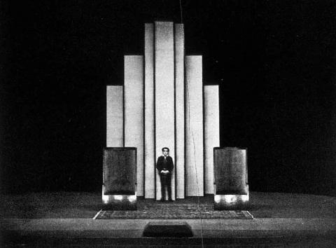 Hamlet, J. Hoffman's Set Design, 1926