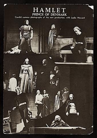Hamlet, Leslie Howard as Hamlet, 1939