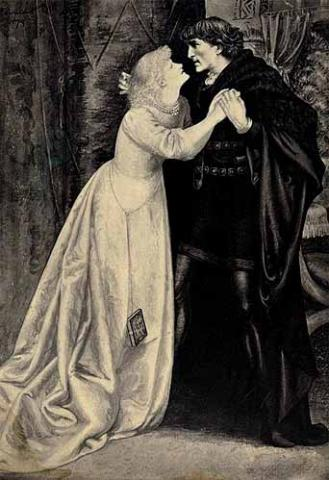 Hamlet, Nunnery Scene, 19th Century