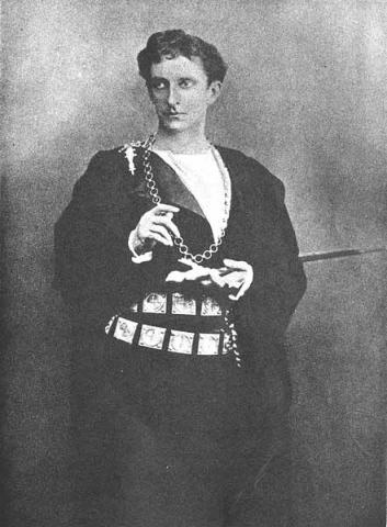 Hamlet, Sir John Forbes-Robertson as Hamlet, 1897