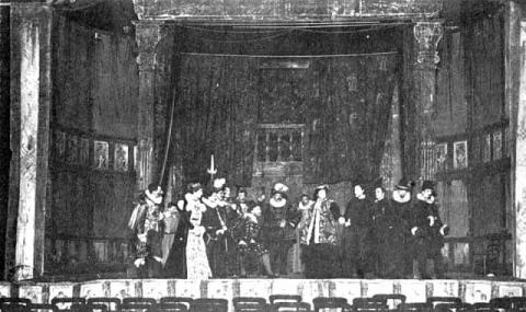 Hamlet, William Poel Company, 1881