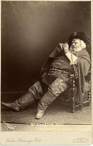 Henry IV, Herbert Beerbohm Tree as Falstaff