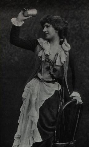 Henry IV, Part 2, Constance Benson as Doll Tearsheet, 19th Century