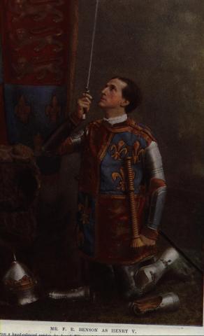 Henry V, Frank Benson as Henry V, 1900