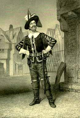 Henry V, William Davidge as Pistol, 19th Century