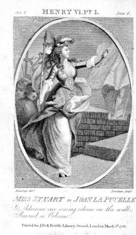 Henry VI, Part 1: Ann Stuart as Joan La Pucelle