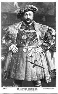 Henry VIII, Arthur Bourchier as Henry VIII