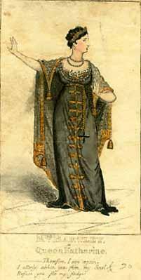 Henry VIII, Sarah Bartley (1783-1850) as Queen Katherine