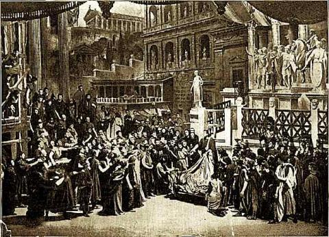 Julius Caesar, Her Majesty's Theatre, 1898