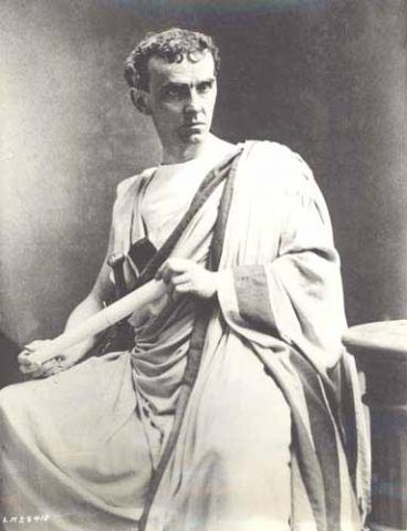 Julius Caesar, Lawrence Barrett as Cassius, 1870