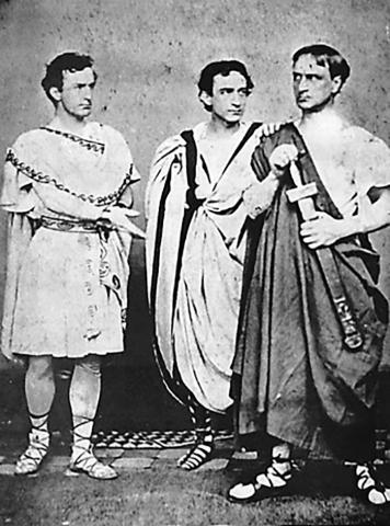 Julius Caesar, the Booth Brothers, 1864