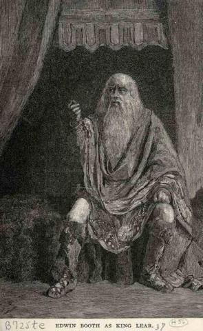 King Lear, 1833-1893