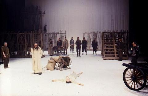 King Lear, American Repertory Theatre, 1991