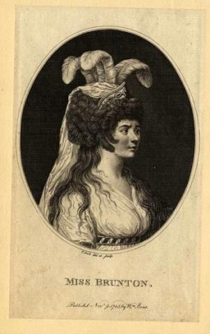 King Lear, Ann Brunton Merry (1768-1808) as Cordelia, 1785