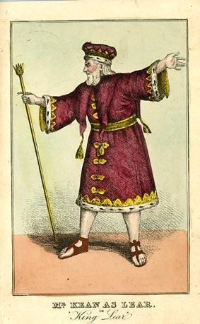 King Lear, Drury Lane Theatre, 1820