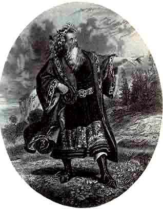 King Lear, Edwin Forrest as Lear, 19th Century