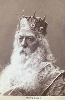 King Lear, George Edgar as King Lear, 1879