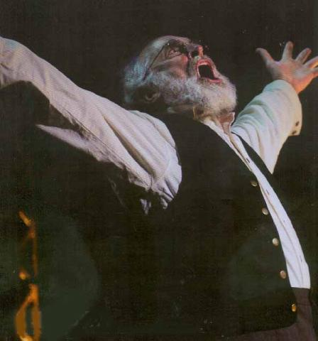King Lear (Jeffrey DeMunn) at the Bruns Theatre: California Shakespeare Theatre, 2007.
