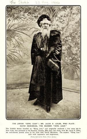 King Lear, Pavilion Theatre, 1906