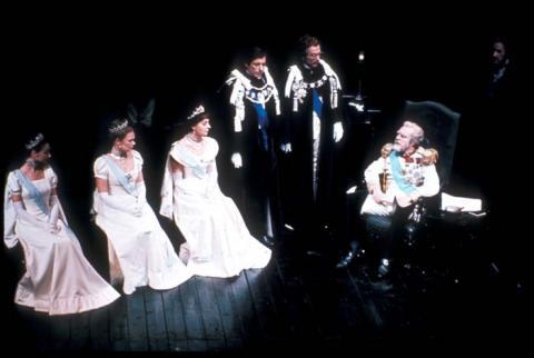 King Lear: Royal Shakespeare Company, November 1976.
