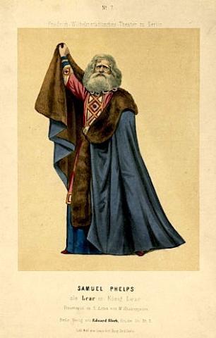 King Lear, Samuel Phelps, 1804-78