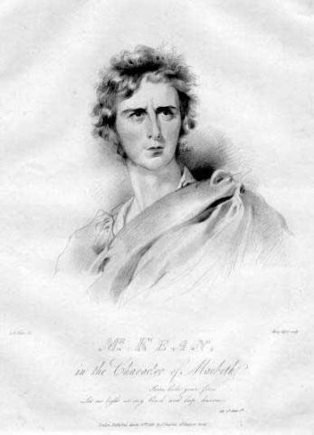 Macbeth, Edmund Kean (1787-1833) as Macbeth