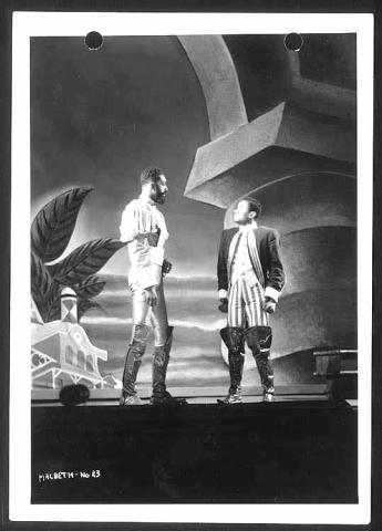 Macbeth, Negro Theatre Unit of New York City, 1936