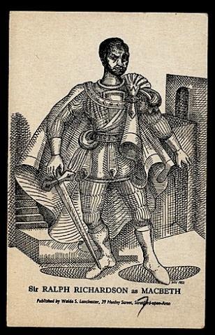 Macbeth: Ralph Richardson as Macbeth