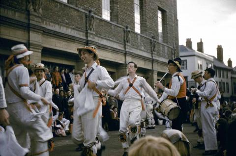 Morris Dancers in Oxford